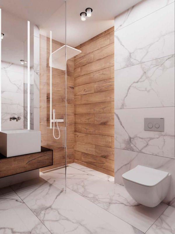 reforma de baño aspecto natural en reus